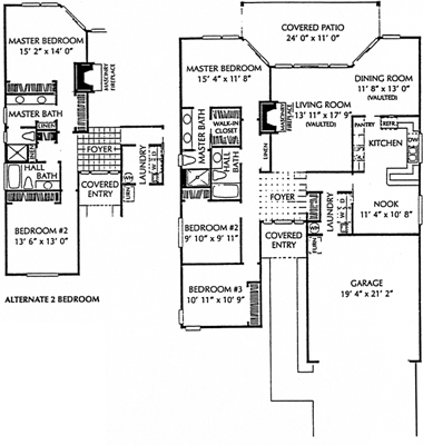 Fairway Village Homes Home Floorplans And Features